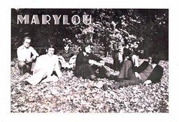 Vieux Papiers - Carte De Visite /pub : Marylou - Groupe Musique - Eckbolsheim - Visiting Cards