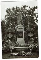 Virginal (?) - Carte Photo 1930 - Monument Coeur Sacré De Jésus - 2 Scans - Ittre