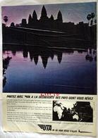 """{10488,02} Publicité """" UTA """", Du Paris Match N° 884 (1966).  """" En Baisse """" - Pubblicitari"""