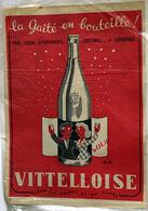 """{10484,14} Publicité """" Vittelloise """", Du Paris Match N° 290 (1954).  """" En Baisse """" - Pubblicitari"""