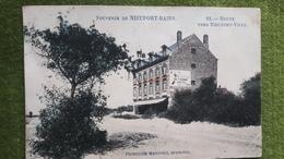 Souvenir De Nieuport-bains ( Route Vers La Ville )1914 - Nieuwpoort