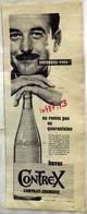 """{10487,13} Publicité """" Contrex """", Du Paris Match N° 558 (1959). """" En Baisse """" - Pubblicitari"""