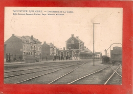 MOUSTIER S/ SAMBRE - Intérieur De La Gare - Jemeppe-sur-Sambre
