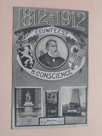 Eeuwfeest H. CONSCIENCE 1812 - 1-12 ( Geboortehuis ) Anno 19?? ( Zie Foto's ) ! - Ecrivains