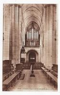 (RECTO / VERSO) LUCON - N° 13134 - GRANDES ORGUES DE LA CATHEDRALE - ORGAN - CPA VOYAGEE - Lucon