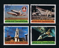 Space - Apollo 15 - Lunar - Columbia Shuttle, Complete Set Of 4 - Space