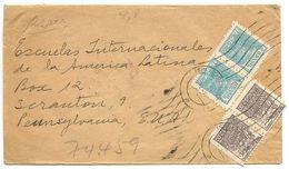 Brazil 1949 Registered Airmail Cover Araraquara To U.S. W/ Scott 661 & 666 - Brazil