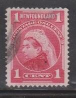 NEWFOUNDLAND Scott # 79 Used - Queen Victoria - Newfoundland
