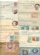 Brazil 1949-50 10 Covers To U.S., Mix Of Stamps & Postmarks - Brazil