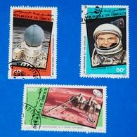 Space - Luna 9 - Viking I - Mars - John - Glenn Flight, Complete Set Of 3 - Space