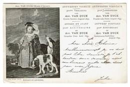 Antwerpen Vooruit / Anvers En Avant - 300e Verjaring / Anniversaire Ant. Van Dijk Augusti/Août 1899 - 2 Scans - Antwerpen