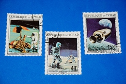 Space - Apollo 11,12 - Moon - Rocket - Astronaut Complete Set Of 3 - Space