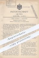 Original Patent - Gebr. Schmidt , Oberstein , Trier , 1905 , Stabspitzenverschluss Für Schirme | Schirm , Regenschirm ! - Documenti Storici