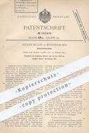 Original Patent - August Müller , Witzenhausen , Kassel , 1906 , Sicherheitsschloss | Schloss , Türschloss , Schlosser - Documenti Storici