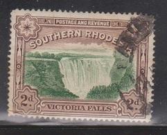 SOUTHERN RHODESIA Scott # 37 Used - Victoria Falls - Rhodésie Du Sud (...-1964)
