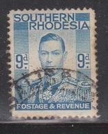 SOUTHERN RHODESIA Scott # 48 Used - KGVI Definitive - Southern Rhodesia (...-1964)
