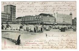 Blankenberghe - La Digue - 1901 - Edit. Alberg Sugg Série 5/7 - 2 Scans - Blankenberge