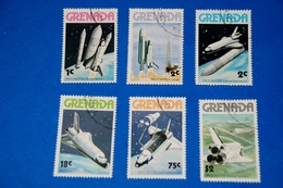 Space - Shuttle - Moon - Orbit - Landing Complete Set Of 6 - Space