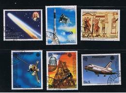 Space - Pioneer 10 - Halley's Comet - Rocket Launch - 2 Complete Sets Of 3 - Espace