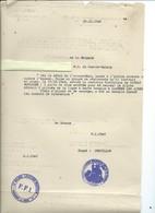 EXTRAIT DE L'ORDRE PARTICULIER N°44 -1ère RÉGION F.F.I. - Documents