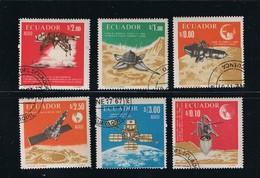 1966 Space - Moon, Spacecraft - Luna 9,10 - Ranger 7 Complete Set Of 6 - Ruimtevaart