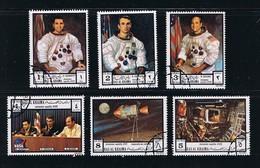 Space - Apollo 17 - Orbit - Cernan Evan Schmitt, Complete Set Of 6 - Space