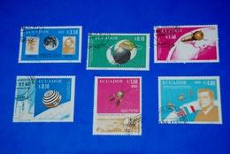 Space 1966 French-American-Italian - Kepler - Kennedy Complete Set Of 6 - Ruimtevaart