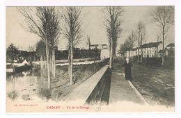 CPA. Cholet. Vu De La Grange. (621) - Cholet