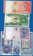 Malaysie  6  Billets - Malaysia