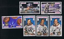 Space - Apollo 16 - Moon - Duke - Young - Mattingly, Complete Set Of 6 - Espace