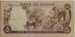 SUDAN P. 14b 5 P 1978 F - Soedan