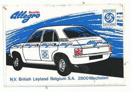 Sticker - Austin Allegro - N.V. British Leyland Belgium S.A. Mechelen - Stickers