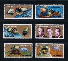 Space - Apollo 14 - Moon - Lunar - Spacecraft, Complete Set Of 6 - Espace