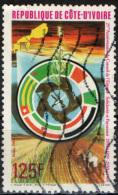 COSTA D'AVORIO - 1984 - CONSIGLIO DELL'UNITA' - SOLIDARIETA' - MAPPA DELLA COSTA D'AVORIO - USATO - Costa D'Avorio (1960-...)