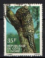 COSTA D'AVORIO - 1983 - PANGOLIN - USATO - Costa D'Avorio (1960-...)