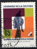 COSTA D'AVORIO - 1979 - GIORNATA DELLA CULTURA - CULTURE DAY - USATO - Costa D'Avorio (1960-...)