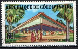 COSTA D'AVORIO - 1979 - CATTEDRALE DI KORHOGO - MISSIONARI CATTOLICI - USATO - Costa D'Avorio (1960-...)