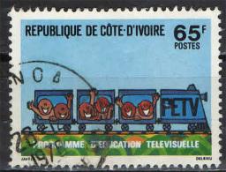 COSTA D'AVORIO - 1978 - EDUCARE ATTRAVERSO LA TELEVISIONE - USATO - Costa D'Avorio (1960-...)