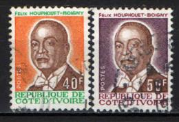 COSTA D'AVORIO - 1974 - PRESIDENTE HOUPHOUET- BOIGNY - USATI - Costa D'Avorio (1960-...)