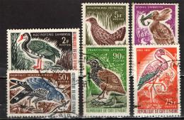 COSTA D'AVORIO - 1965 -UCCELLI - BIRDS - USATI - Costa D'Avorio (1960-...)