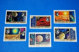 Space - Nicolas Copernicus Spacecraft Planets System Complete Set Of 6 - Espacio