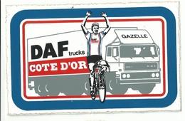 Sticker - DAF Trucks - COTE D'OR - GAZELLE - Wielrenner - Stickers
