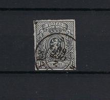 N°22 MET 4 MARGES GESTEMPELD DC Bruxelles COB € 170,00 SUPERBE - 1866-1867 Petit Lion