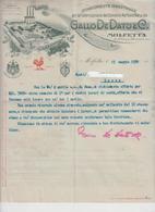 Molfetta Fattura Gallo De Dato 1930 G/P - Italia