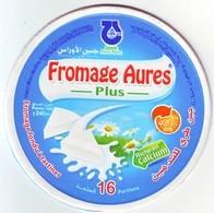 """Algérie - 1 Couvercles De  Fromage Fondu """"Aurès Plus"""" 16 Portions. - Cheese"""