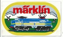 Sticker - Märklin - Trein - Stickers
