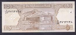 AFGANISTAN 2002 . 5 AFGHANIS. FORTALEZA  PICK Nº 66    B145 - Afghanistan