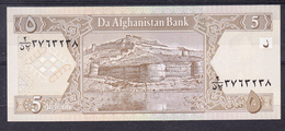 AFGANISTAN 2002 . 5 AFGHANIS. FORTALEZA  PICK Nº 66    B145 - Afghanistán
