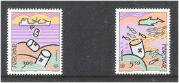 Faroyar Faroe Island 1986 Europa Nature Conservation  Mi 134-135 MNH(**) - Féroé (Iles)
