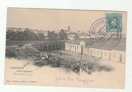 1906 ALGECIRAS CONFERENCE Spain EVENT COVER  (postcard Algeciras) To Bavaria Germany, Morocco Crisis - Storia Postale